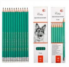 Простий олівець з гумкою HB